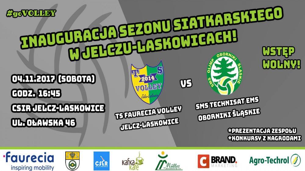 Siatkówka, Faurecia Volley Jelcz Laskowice zagra pierwszy siebie - zdjęcie, fotografia