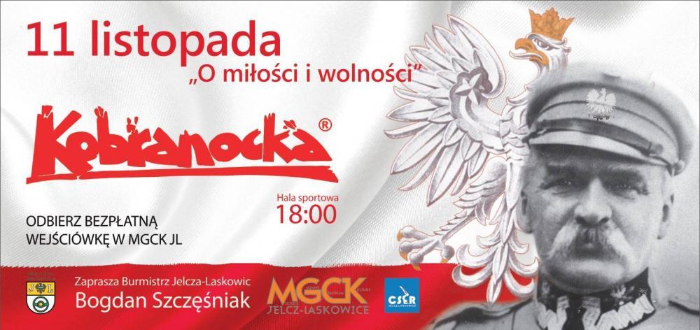 MGCK Jelcz-Laskowice, miłości wolności Jelczu Laskowicach zagra Kobranocka - zdjęcie, fotografia