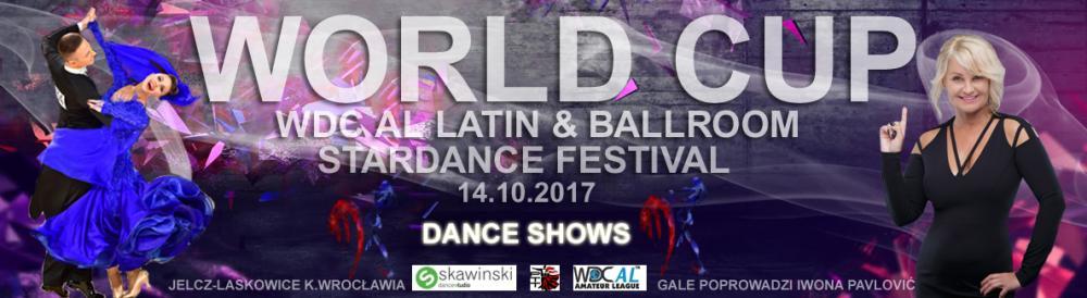 Taniec, Taneczny Puchar Świata Jelczu Laskowicach - zdjęcie, fotografia