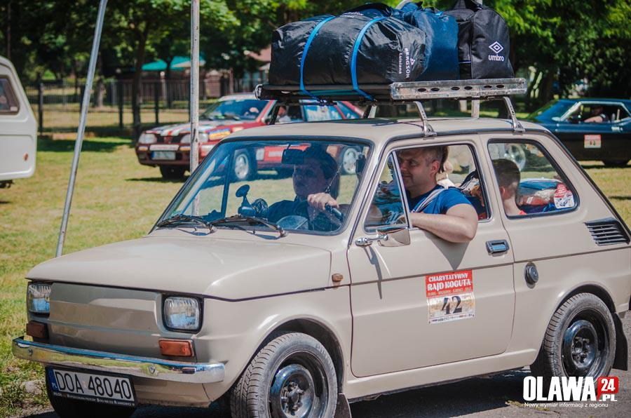 Zloty, kilometrów zabytkowych pojazdach - zdjęcie, fotografia
