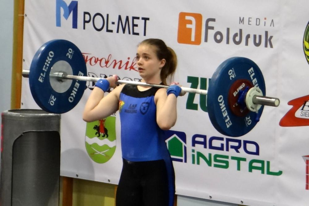 Ciężary, Medale zawodniczek Polwicy Wierzbno - zdjęcie, fotografia