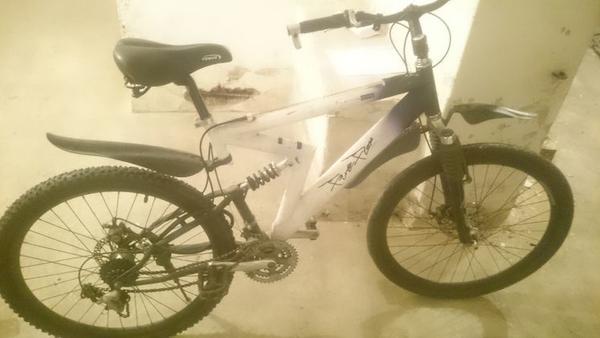 Znalezione, Policja poszukuje właściciela znalezionego roweru - zdjęcie, fotografia