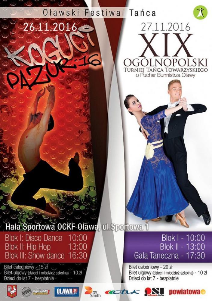 Taniec, Oławski Festiwal Tańca - zdjęcie, fotografia