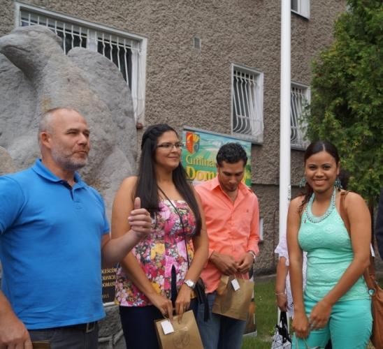 Mieszkańcy, Pielgrzymi Dominikany Domaniowie - zdjęcie, fotografia