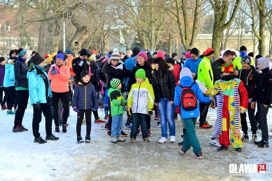 Bieganie, zwycięzców charytatywnego biegu - zdjęcie, fotografia