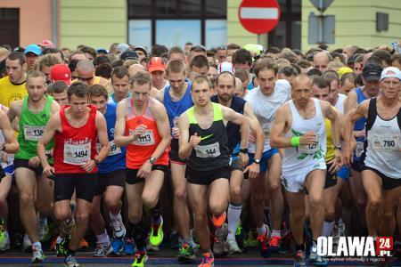 Bieganie, rekord Oława opanowana przez biegaczy! - zdjęcie, fotografia