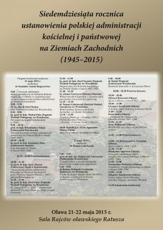 Wernisaże spotkania, Konferencja naukowa ramach rocznicy - zdjęcie, fotografia
