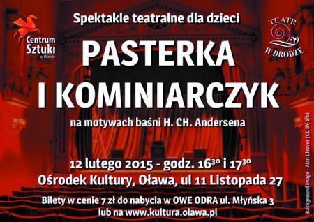 Centrum Sztuki w Oławie, lutym Centrum Sztuki - zdjęcie, fotografia