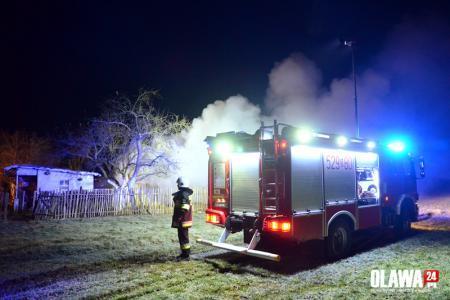 Pożary, Kolejny pożar altanki Starym Górniku - zdjęcie, fotografia