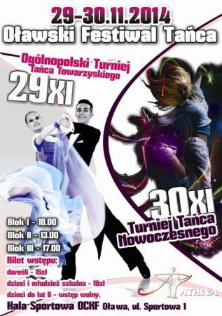 Taniec, Festiwal tańca Oławie - zdjęcie, fotografia