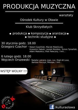 zbiorcza, Warsztaty produkcji muzycznej - zdjęcie, fotografia