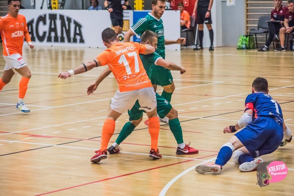 Futsal, Mistrz lepszy beniaminka Rekord wywozi zwycięstwo Jelcza Laskowic - zdjęcie, fotografia