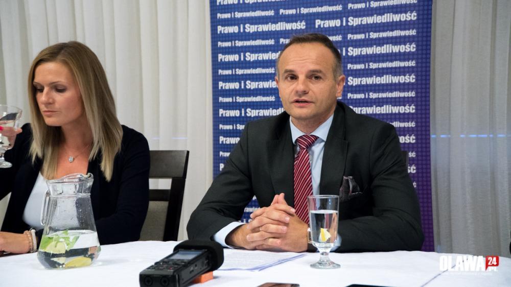 Wybory samorządowe, Mariusz Łuczkiewicz zaprezentował swój program wyborczy - zdjęcie, fotografia