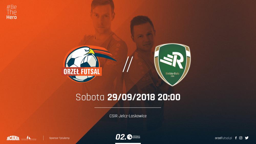 Futsal, Orzeł przyjmuje Jelczu Laskowicach mistrza Polski Walczy drugie zwycięstwo rzędu - zdjęcie, fotografia