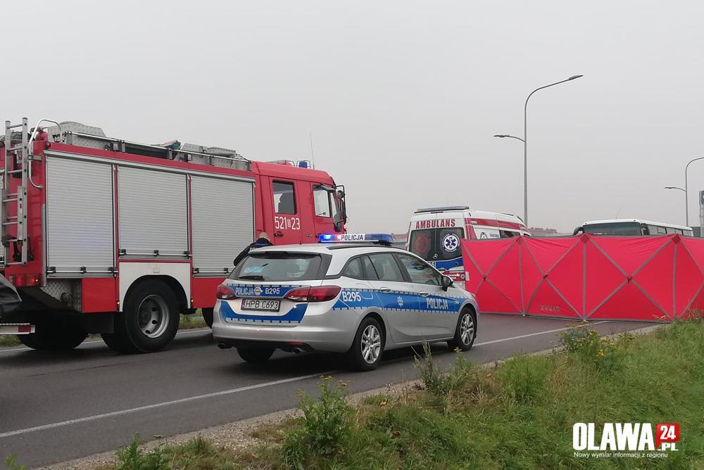 Wypadki drogowe, Śmiertelne potrącenie Nowym Otoku - zdjęcie, fotografia