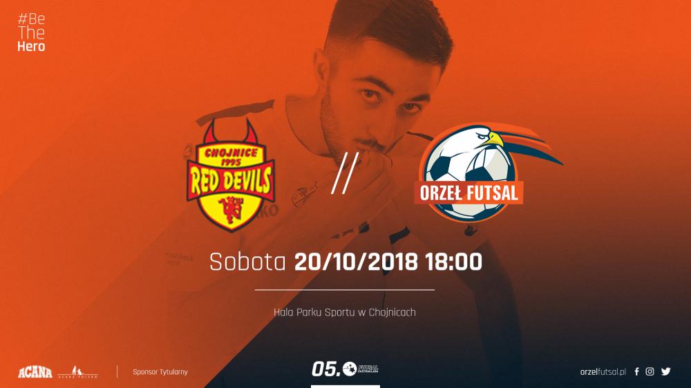 Futsal, Starcie beniaminków Futsal Ekstraklasy Orzeł jedzie Chojnic - zdjęcie, fotografia