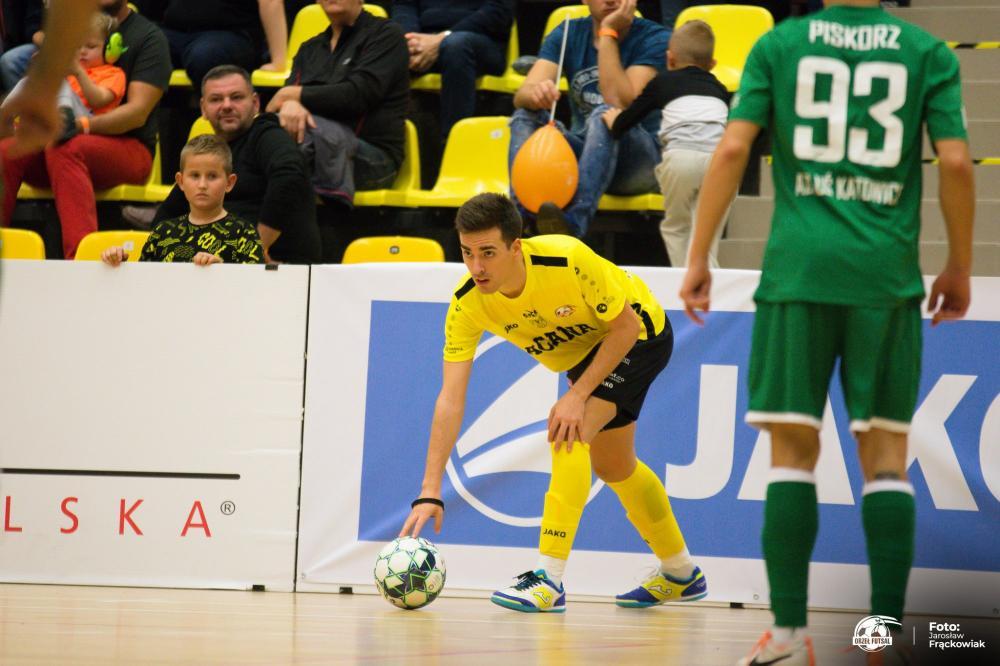 Futsal, Remontada Jelczu Laskowicach Orzeł odrabia straty pokonuje Katowice - zdjęcie, fotografia