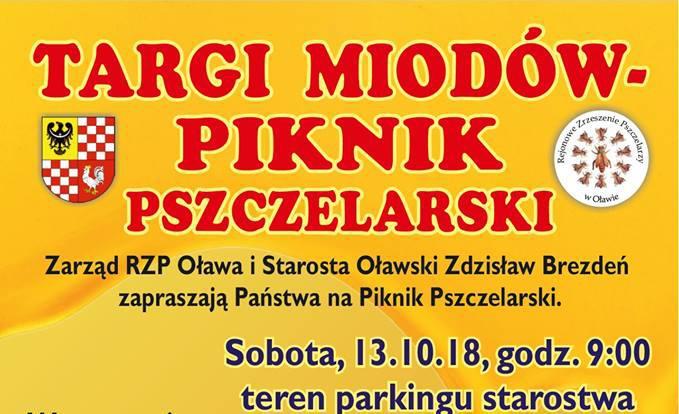 Wernisaże spotkania, Piknik Pszczelarski targi miodów - zdjęcie, fotografia