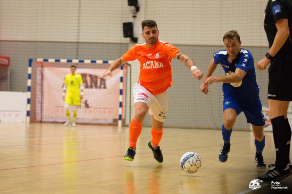 Futsal, Pierwszy wyjazd Orła ekstraklasie zwycięstwo powalczy Gliwicach - zdjęcie, fotografia