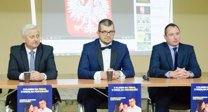 Wybory samorządowe, Zjednoczona Prawica punktuje obecnego burmistrza - zdjęcie, fotografia