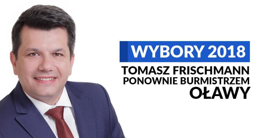 Wybory samorządowe, Tomasz Frischmann zostaje kolejną kadencję! - zdjęcie, fotografia