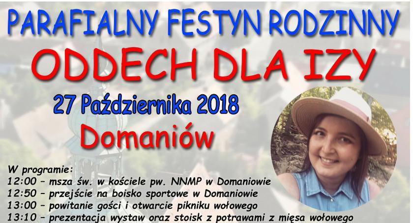 Gmina Domaniów, Festyn rodzinny Oddech połączony piknikiem wołowym - zdjęcie, fotografia