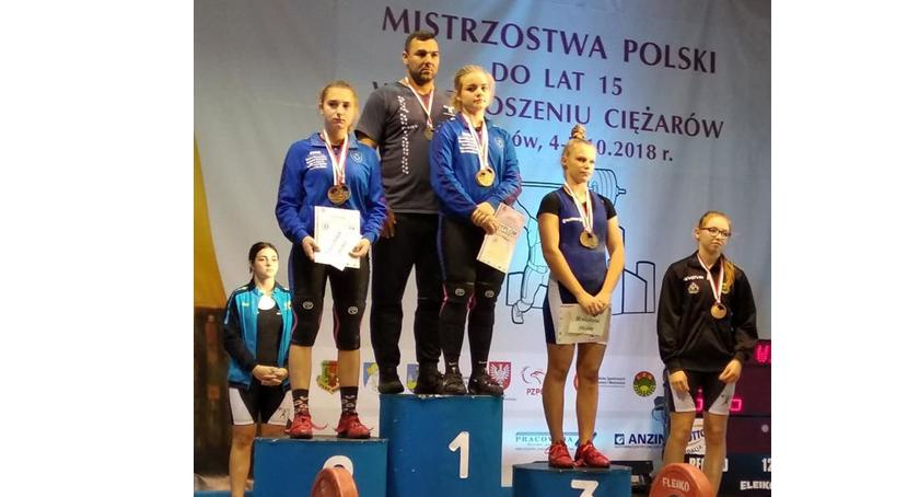 Ciężary, Zuzanna Protokowicz obroniła tytułu Mistrzyni Polski! - zdjęcie, fotografia