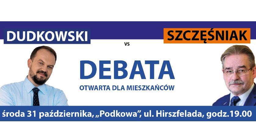 Wybory samorządowe, Szczęśniak debaty Gminie - zdjęcie, fotografia