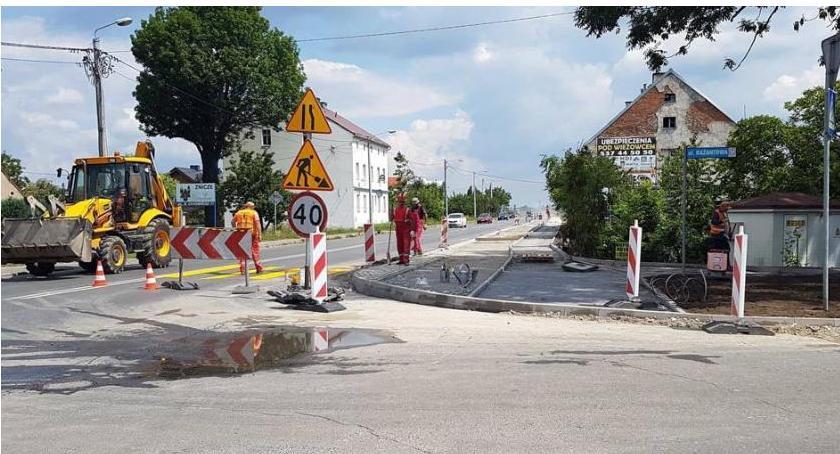 Inwestycje, Drogowcy informują zamknięciu Bażantowej Orlej - zdjęcie, fotografia