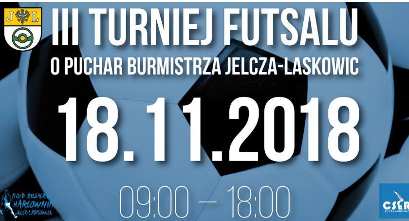Futsal, Turniej Futsalu Puchar Burmistrza Jelcza Laskowic - zdjęcie, fotografia
