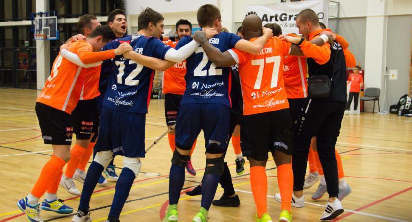 Futsal, Orła czeka trudna przeprawa Chorzowie - zdjęcie, fotografia