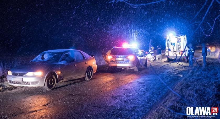 Wypadki drogowe, Potrącenie Ofiar Katynia - zdjęcie, fotografia