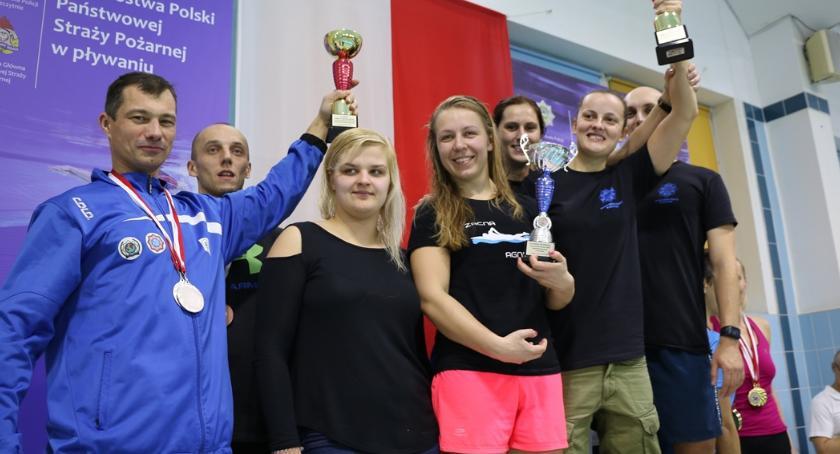Pływanie, Agnieszka Burdelak najlepsza pływaniu - zdjęcie, fotografia