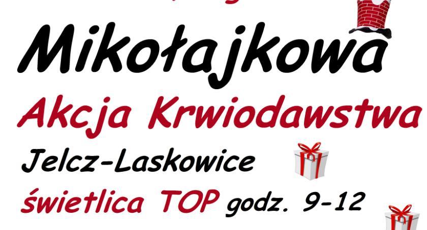 Mieszkańcy, Mikołajkowa akcja krwiodawstwa - zdjęcie, fotografia