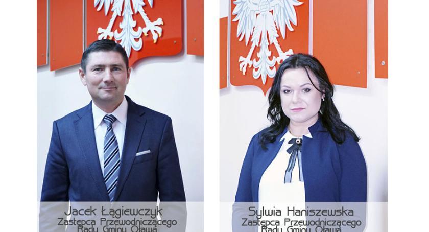 Gmina Oława, Zastępcy przewodniczącego wybrani - zdjęcie, fotografia
