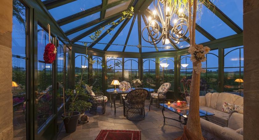Ciekawoski, zaaranżować funkcjonalny efektowny ogród zimowy - zdjęcie, fotografia
