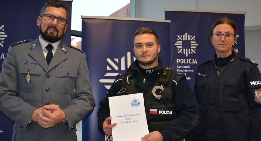 Kronika policyjna, służbie zatrzymał pijanego kierowcę - zdjęcie, fotografia