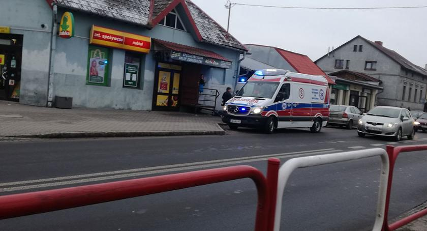 Kronika policyjna, Zmarł chodniku - zdjęcie, fotografia
