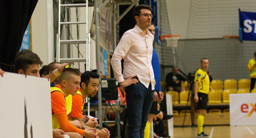 Futsal, Najpierw pierwsza szóstka później myśli medalu Wywiad trenerem Orła - zdjęcie, fotografia