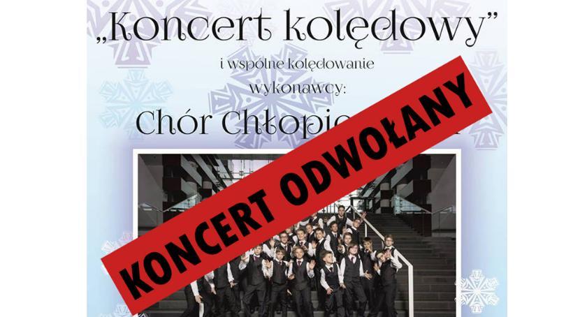 Koncerty, Koncert kolędowy chórem chłopięcym - zdjęcie, fotografia