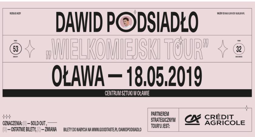 Koncerty, Dawid Podsiadło nową płytą wystąpi Oławie! - zdjęcie, fotografia