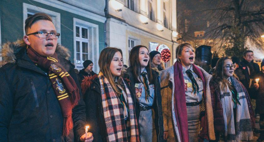 Mieszkańcy, Minuta ciszy prezydenta Gdańska GALERIA ZDJĘĆ - zdjęcie, fotografia