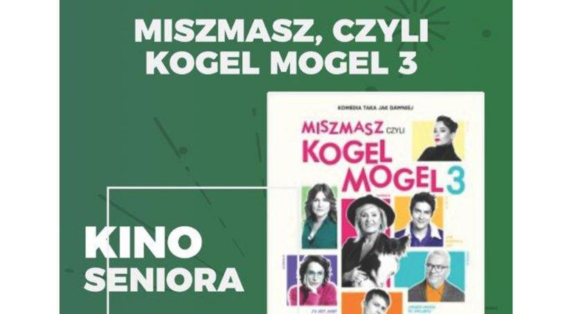 Kino ODRA, Miszmasz czyli Kogel Mogel Kinie Seniora - zdjęcie, fotografia