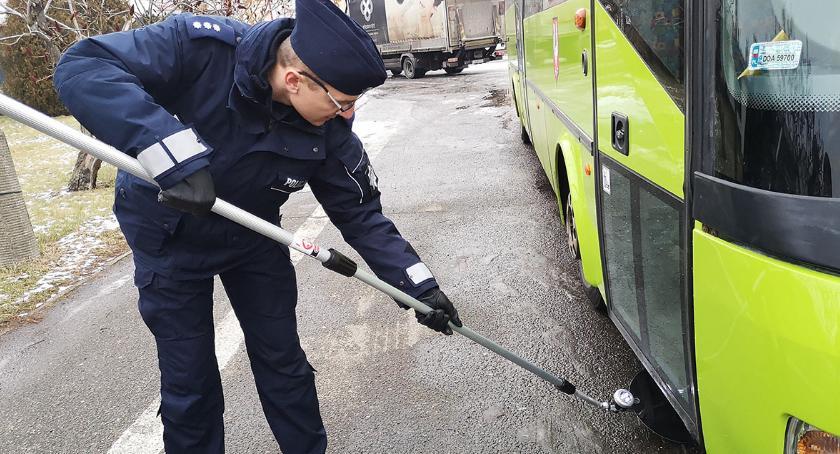 Akcje, Lustra inspekcyjne oławskiej policji - zdjęcie, fotografia