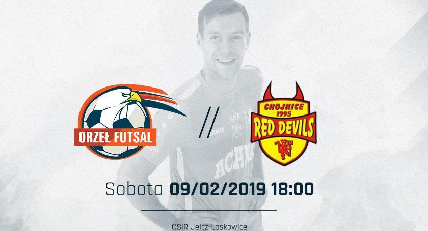 Futsal, Orzeł gości beniaminka szansę rewanż - zdjęcie, fotografia