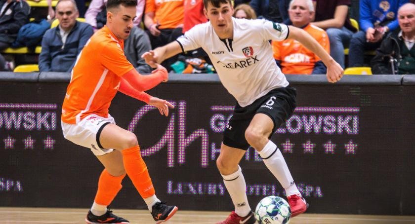 Futsal, Rewanżu było Bramkarz Cleareksu twarzą zwycięstwa Orłem - zdjęcie, fotografia