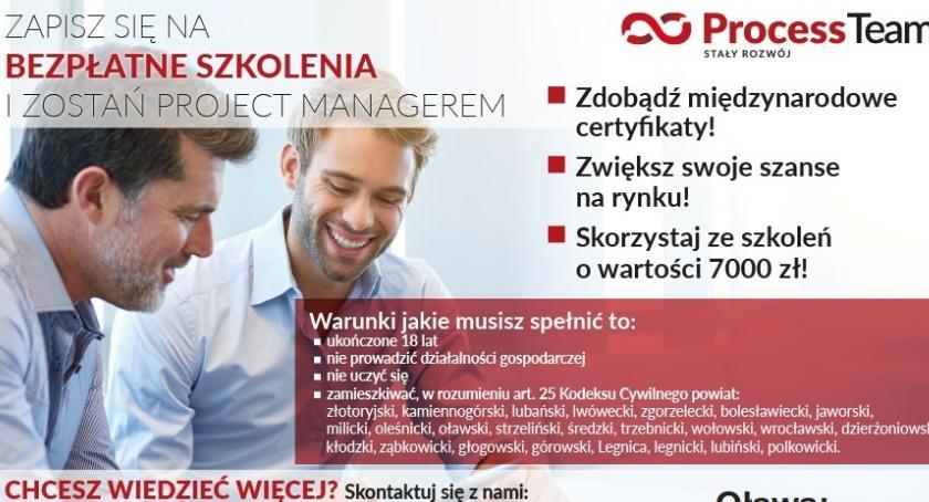 Artykuły sponsorowane, ZOSTAŃ PROJECT MANAGEREM! - zdjęcie, fotografia