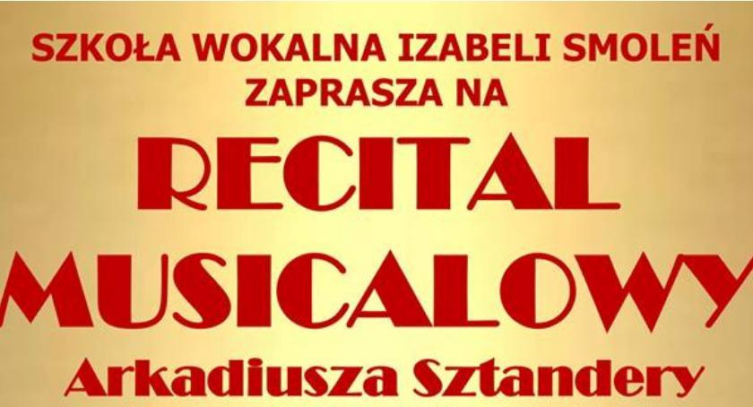 Wernisaże spotkania, Recital Arkadiusza Sztandery - zdjęcie, fotografia