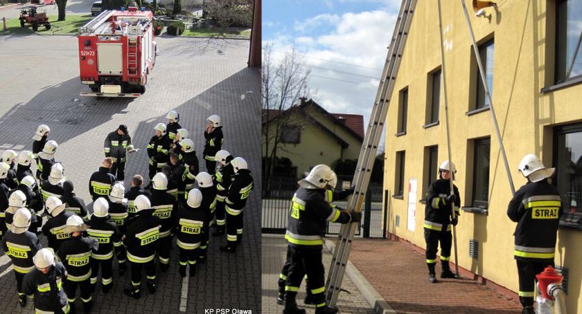 Akcje, Chcą wejść szeregi Ochotniczej Straży Pożarnej - zdjęcie, fotografia