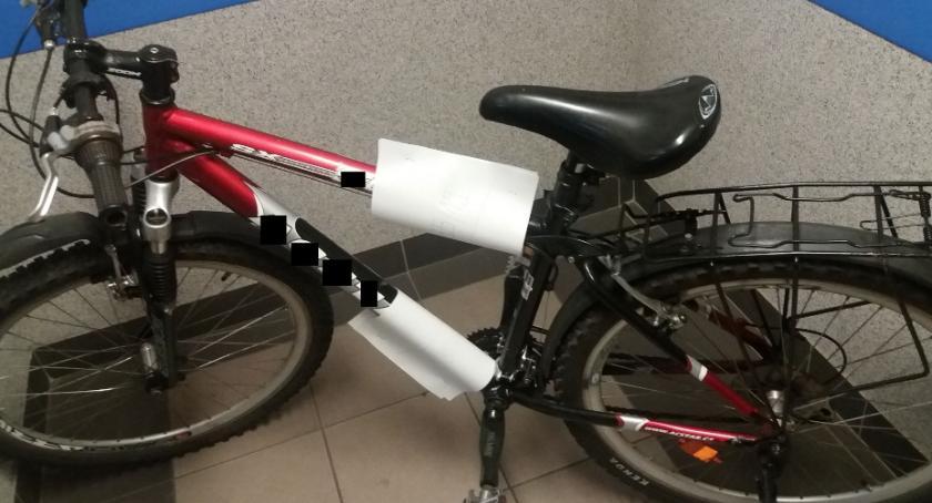 Kronika policyjna, Znaleziono rower wiaduktem - zdjęcie, fotografia